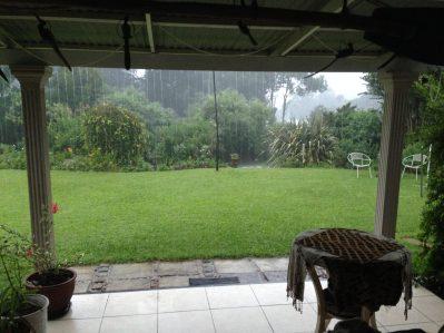 Verandah rain